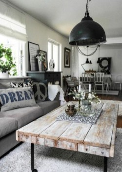 Gorgeous Farmhouse Living Room Makeover Decor Ideas To Try Asap 25