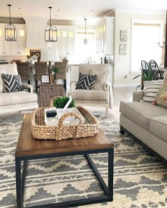 Gorgeous Farmhouse Living Room Makeover Decor Ideas To Try Asap 29