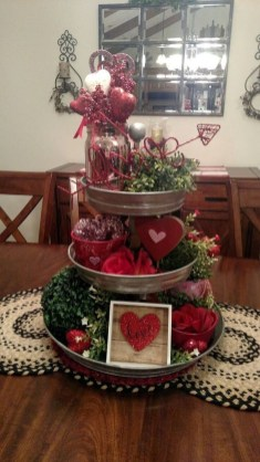 Lovely Valentines Day Table Centerpieces Ideas To Try Asap 07