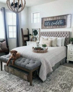 Pretty Farmhouse Master Bedroom Ideas To Try Asap 04