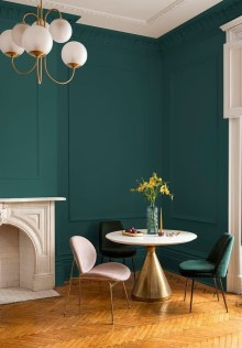 Sophisticated Home Decoration Ideas With Green Paint Combination 01