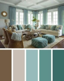 Sophisticated Home Decoration Ideas With Green Paint Combination 10