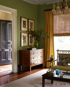 Sophisticated Home Decoration Ideas With Green Paint Combination 12
