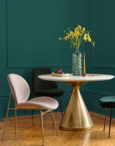 Sophisticated Home Decoration Ideas With Green Paint Combination 13
