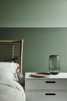 Sophisticated Home Decoration Ideas With Green Paint Combination 23