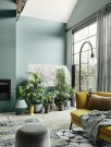 Sophisticated Home Decoration Ideas With Green Paint Combination 39