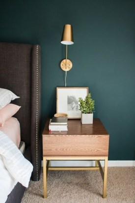 Sophisticated Home Decoration Ideas With Green Paint Combination 42