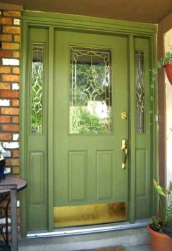 Sophisticated Home Door Designs Ideas That Are Suitable For Your Home 35