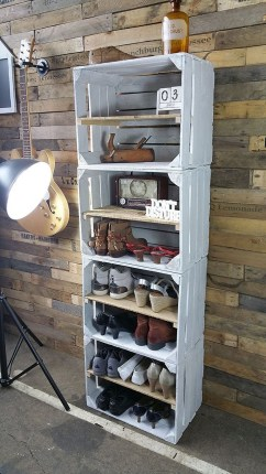 Spectacular Diy Shoe Storage Ideas For Best Home Organization To Try 42