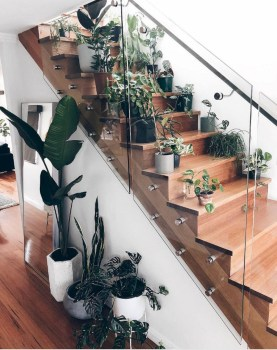 Adorable Botanical Trends Ideas To Try For Minimalist Stairs 33