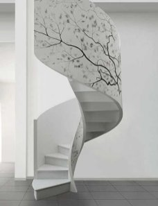 Adorable Botanical Trends Ideas To Try For Minimalist Stairs 37