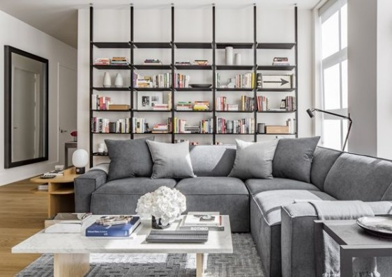 Best Noho Bachelor Loft Design Ideas With Stylish Gray Accents 21