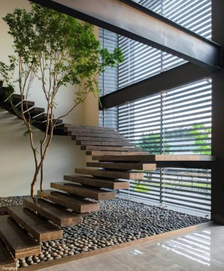 Brilliant Staircase Design Ideas For Small Saving Spaces To Try Asap 35