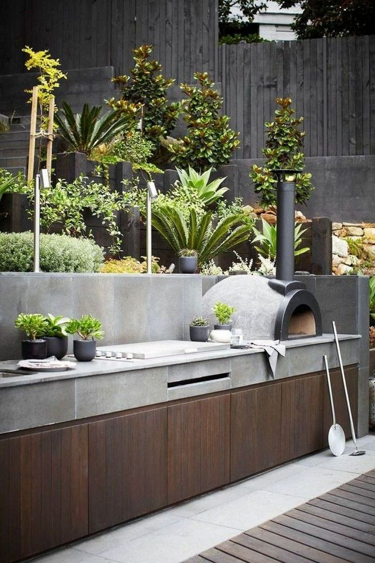 Excellent Private City Garden Design Ideas With Beach Vibes 05