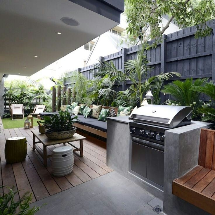 Excellent Private City Garden Design Ideas With Beach Vibes 17