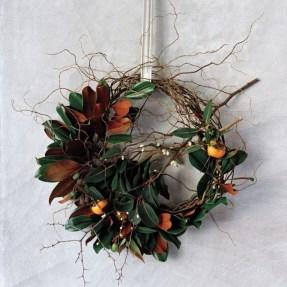 Gorgeous Scandinavian Winter Wreaths Ideas With Natural Spirit 01