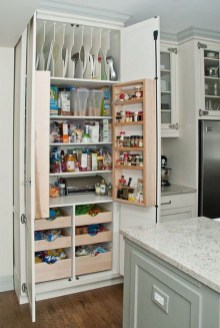 Incredible Kitchen Pantry Design Ideas To Optimize Your Small Space 14