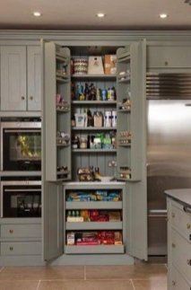 Incredible Kitchen Pantry Design Ideas To Optimize Your Small Space 29