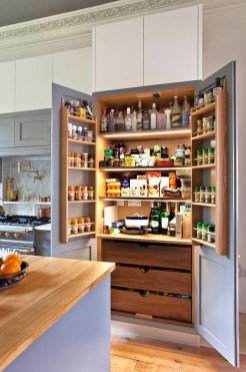 Incredible Kitchen Pantry Design Ideas To Optimize Your Small Space 35