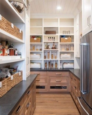 Incredible Kitchen Pantry Design Ideas To Optimize Your Small Space 42