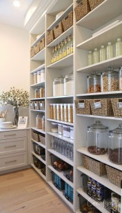 Incredible Kitchen Pantry Design Ideas To Optimize Your Small Space 48