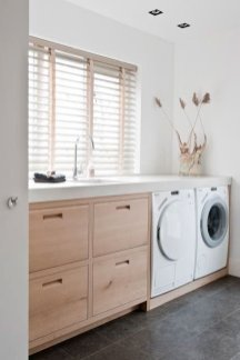Inexpensive Tiny Laundry Room Design Ideas With Nature Touches 09