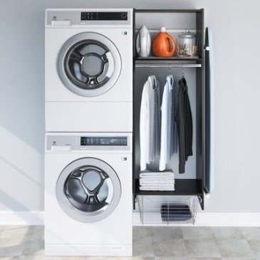 Inexpensive Tiny Laundry Room Design Ideas With Nature Touches 17