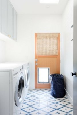 Inexpensive Tiny Laundry Room Design Ideas With Nature Touches 27