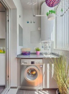 Inexpensive Tiny Laundry Room Design Ideas With Nature Touches 40