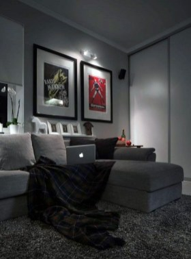 Inspiring Male Living Space Design Ideas That You Need To Try Asap 36