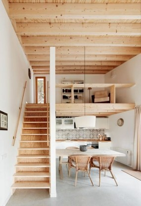 Pretty Scandinavian House Design Ideas With Wood Characteristics To Try 36