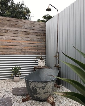 Sophisticated Outdoor Bathroom Design Ideas That Feel Like A Vacation 25