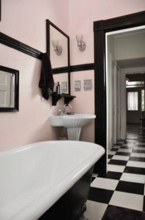 Sophisticated Pink Colors Design Ideas To Transform Your Bathroom 06