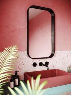 Sophisticated Pink Colors Design Ideas To Transform Your Bathroom 10