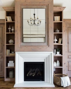 Superb Fireplaces Design Ideas Without Fire To Try In Your Home 03