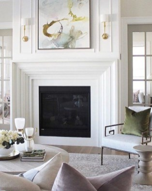 Superb Fireplaces Design Ideas Without Fire To Try In Your Home 06