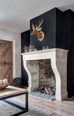 Superb Fireplaces Design Ideas Without Fire To Try In Your Home 07