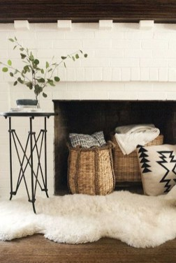Superb Fireplaces Design Ideas Without Fire To Try In Your Home 17