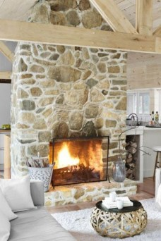 Superb Fireplaces Design Ideas Without Fire To Try In Your Home 22