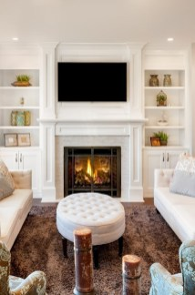 Superb Fireplaces Design Ideas Without Fire To Try In Your Home 30