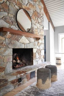 Superb Fireplaces Design Ideas Without Fire To Try In Your Home 32