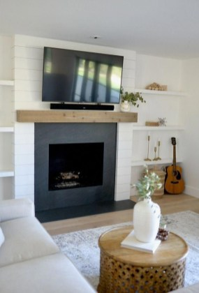 Superb Fireplaces Design Ideas Without Fire To Try In Your Home 36