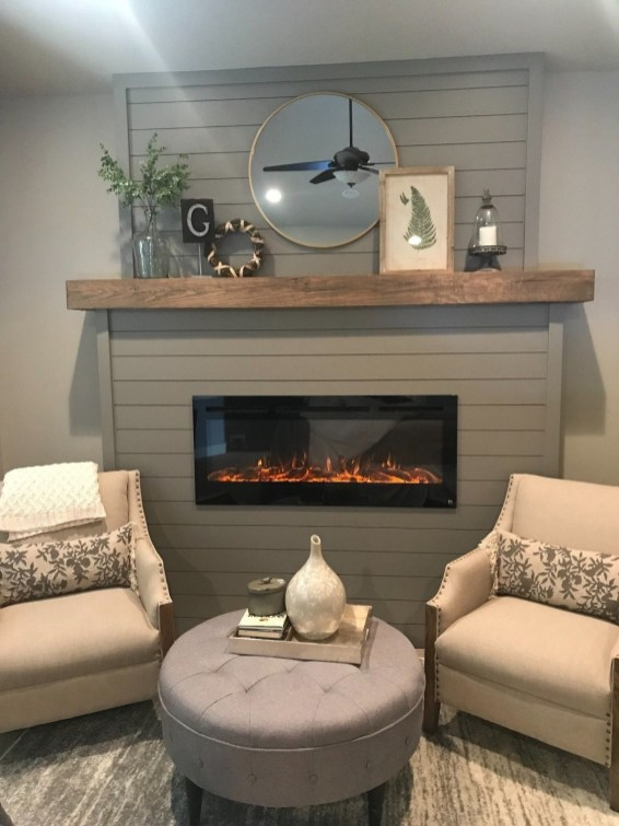Superb Fireplaces Design Ideas Without Fire To Try In Your Home 40