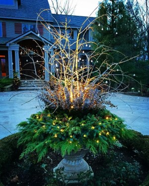 Superb Outdoor Winter Decor Ideas That Refresh Your Feel 18