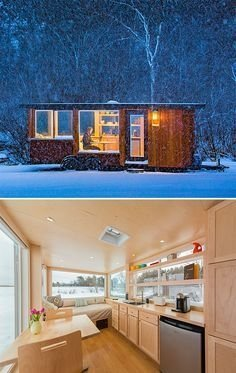 Adorable Tiny Houses Design Idea With 160 Square Feet That You Need To Try 17