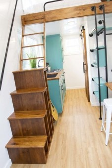 Adorable Tiny Houses Design Idea With 160 Square Feet That You Need To Try 29
