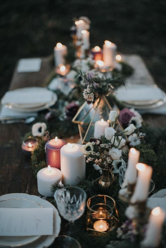 Astonishing Winter Wedding Theme Design Ideas With Winter Inspired 37