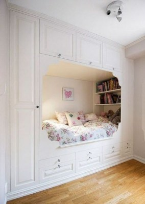 Beautiful Girl Bedroom Design Ideas That Looks So Charming 09