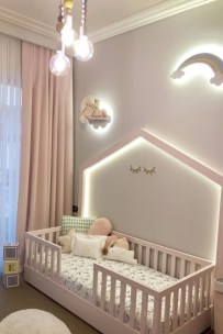Beautiful Girl Bedroom Design Ideas That Looks So Charming 32