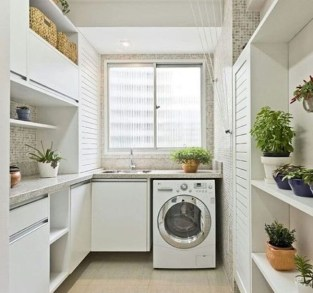 Best Tiny Laundry Spaces Design Ideas That So Functional 03